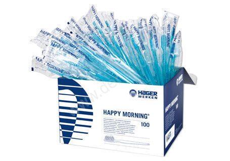 Одноразовые зубные щетки с пастой