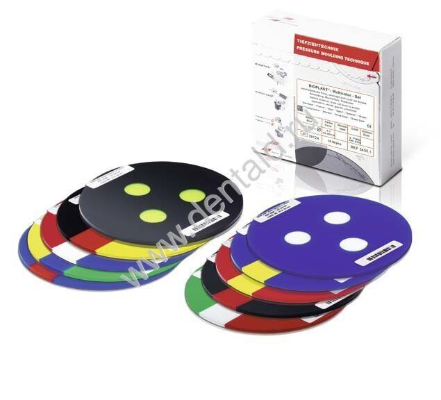 BIOPLAST MULTICOLOR Set 3.0x125 mm