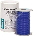 S-U WAX-WIRE blue, medium hard 3,0 mm (250g)